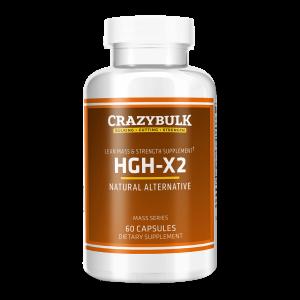 HGH X2 by Crazybulk