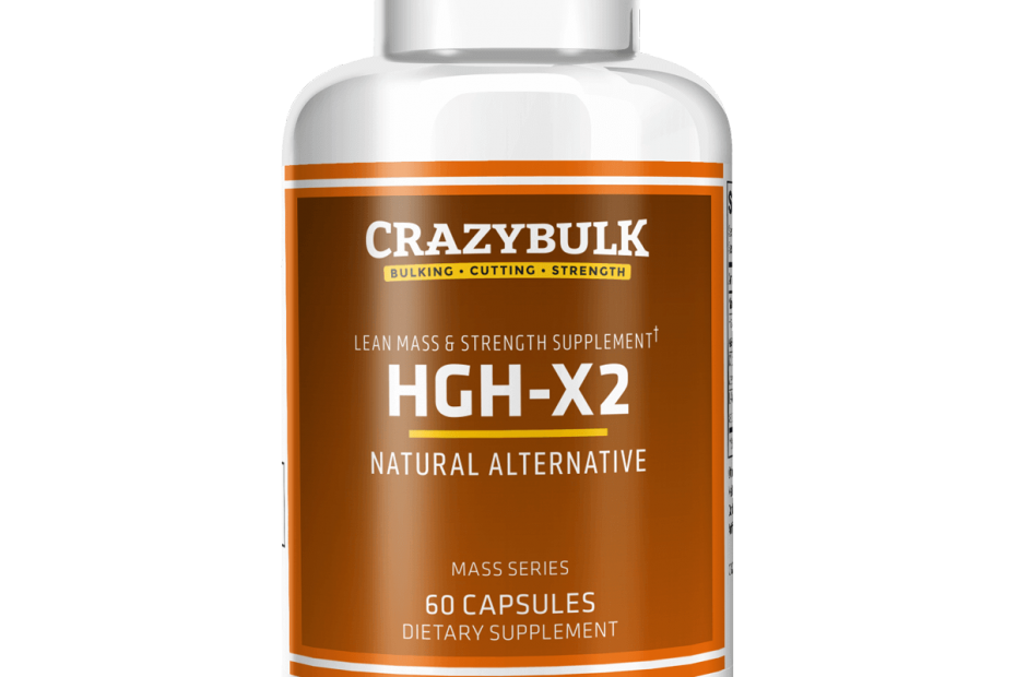 HGH X2 by Crazybulk